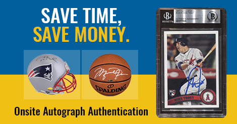 Upcoming Trade Shows And Events Beckett Authentication Services