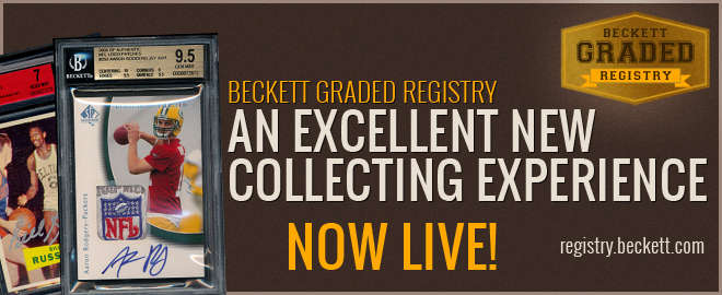 Beckett Graded Registry