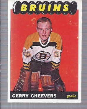 1965-66 Topps #31 Gerry Cheevers RC