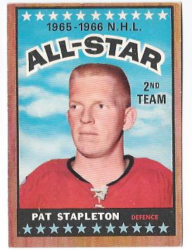 1966-67 Topps #129 Pat Stapleton AS
