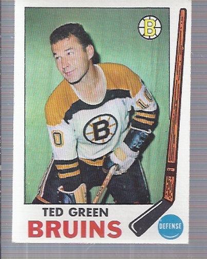 1969-70 Topps #23 Ted Green