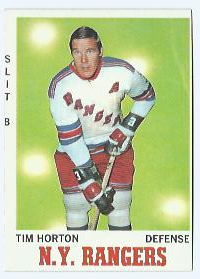 1970-71 Topps #59 Tim Horton