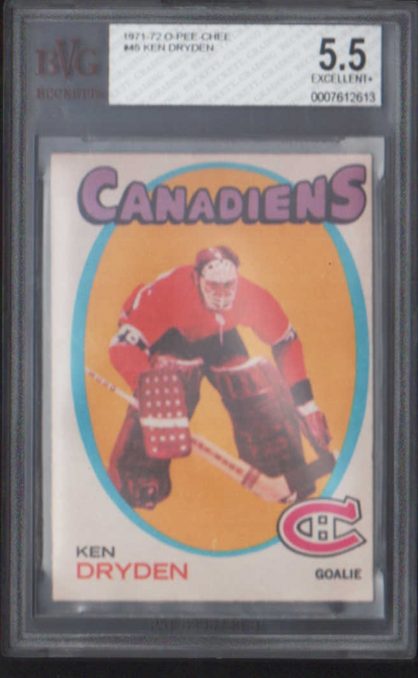 1971-72 O-Pee-Chee #45 Ken Dryden RC