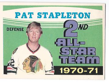1971-72 O-Pee-Chee #258 Pat Stapleton AS2