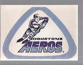 1972-73 O-Pee-Chee Team Logos #22 Houston Aeros SP