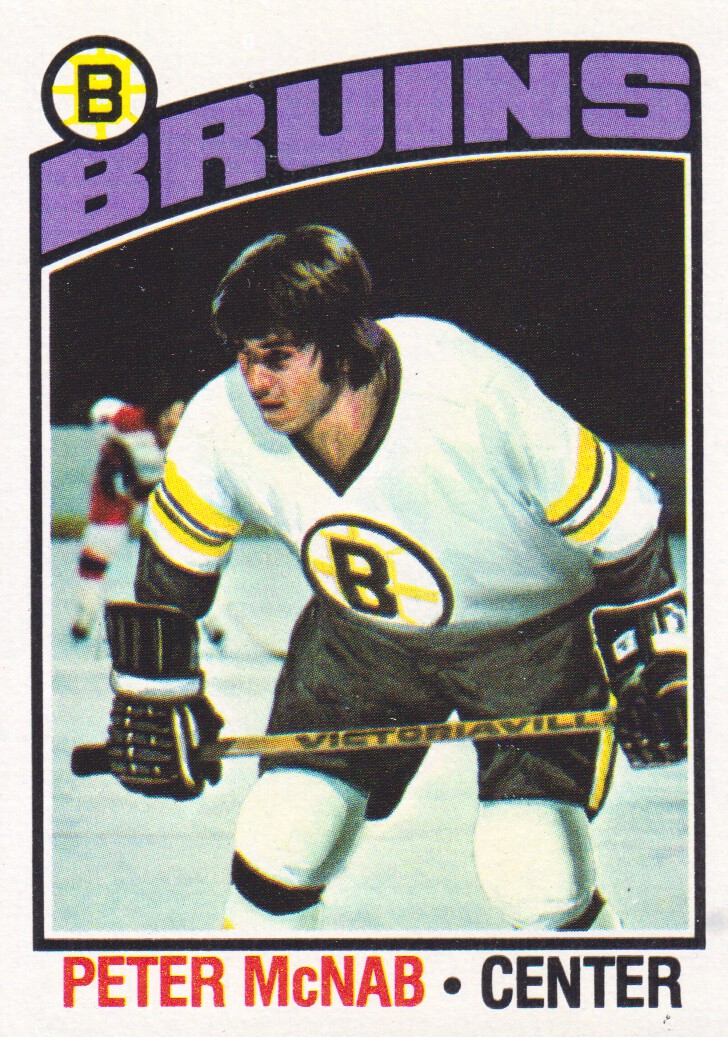 1976-77 Topps #118 Peter McNab