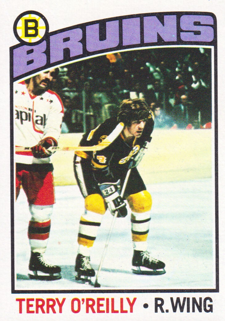 1976-77 Topps #130 Terry O'Reilly