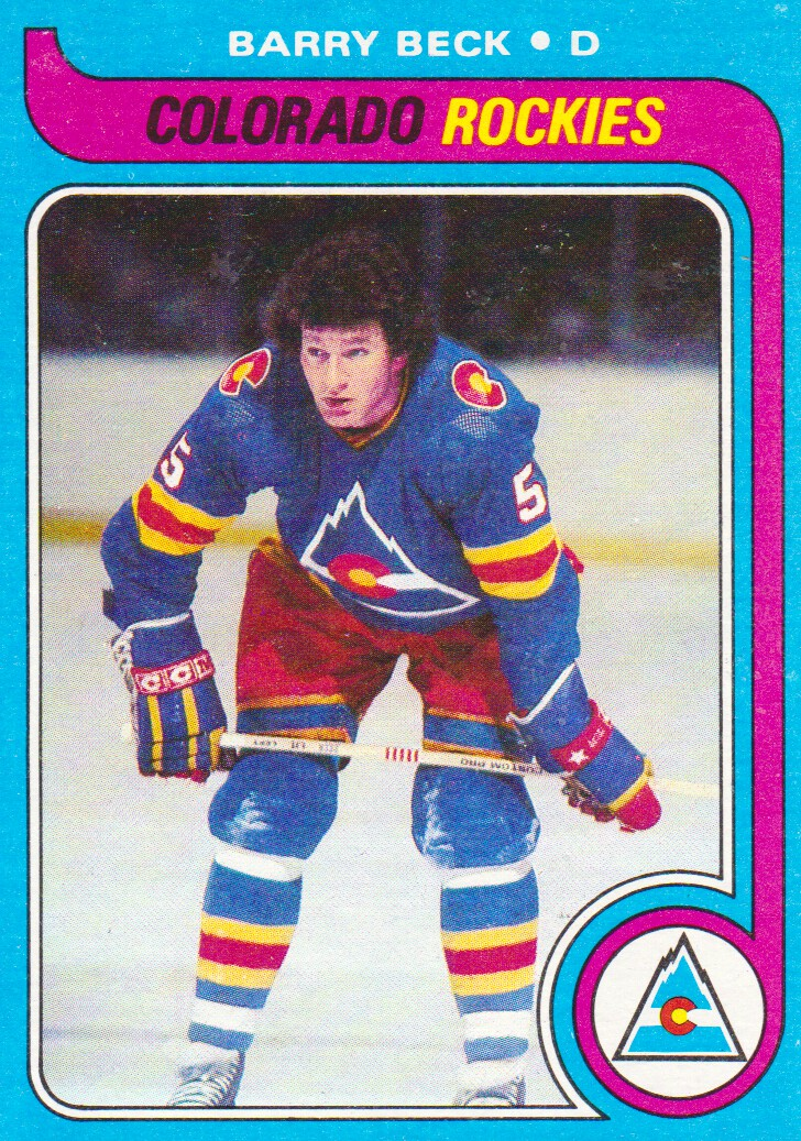 1979-80 Topps #35 Barry Beck