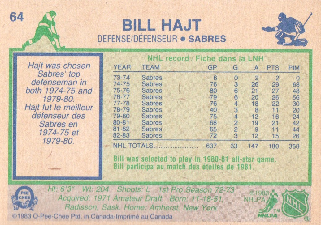 1983-84-O-Pee-Chee-Hockey-Cards-1-250-Pick-From-List miniature 91