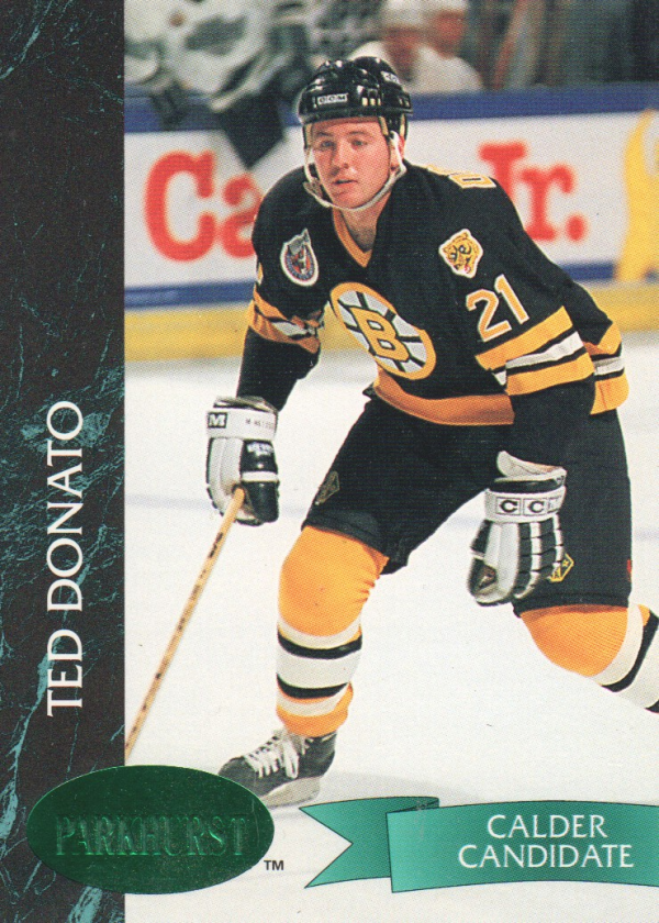 1992-93 Parkhurst Emerald Ice #8 Ted Donato