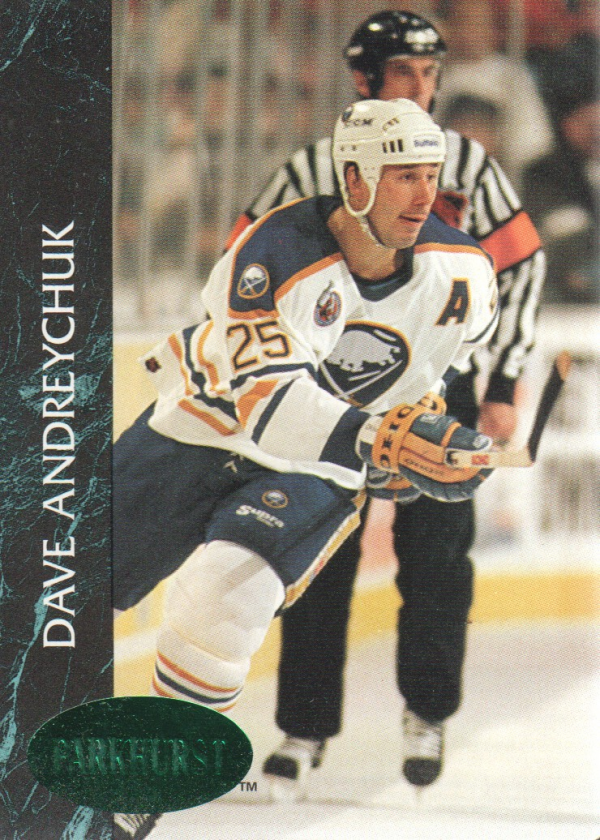1992-93 Parkhurst Emerald Ice #10 Dave Andreychuk