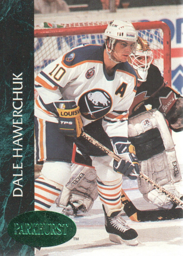1992-93 Parkhurst Emerald Ice #11 Dale Hawerchuk