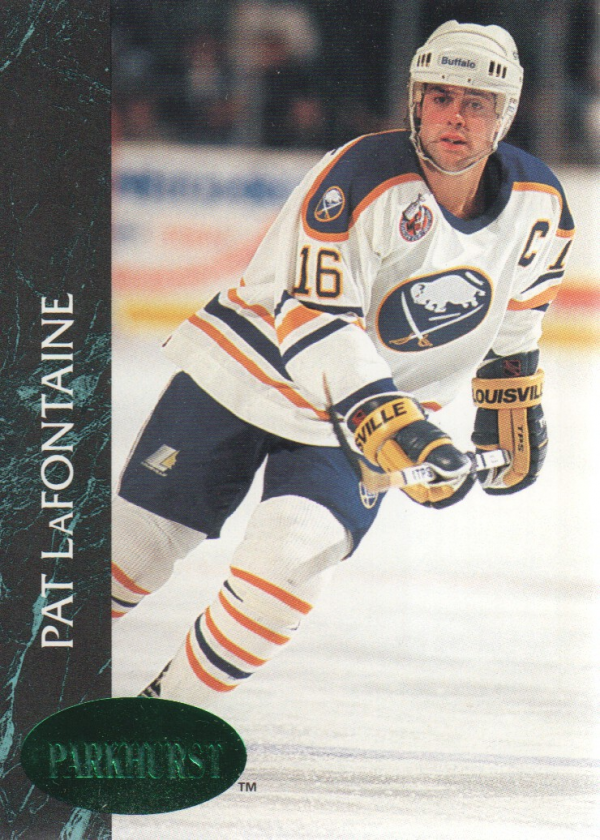 1992-93 Parkhurst Emerald Ice #12 Pat LaFontaine