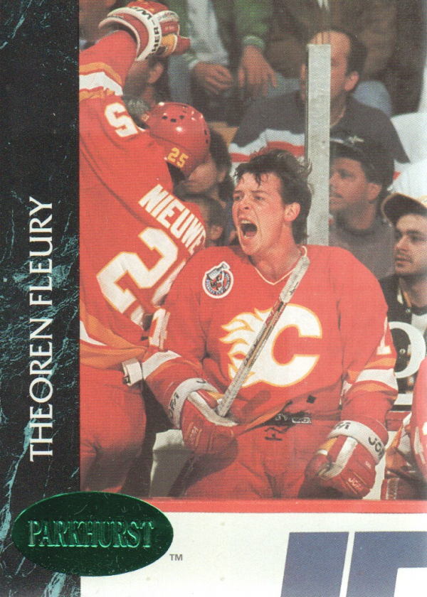 1992-93 Parkhurst Emerald Ice #19 Theo Fleury