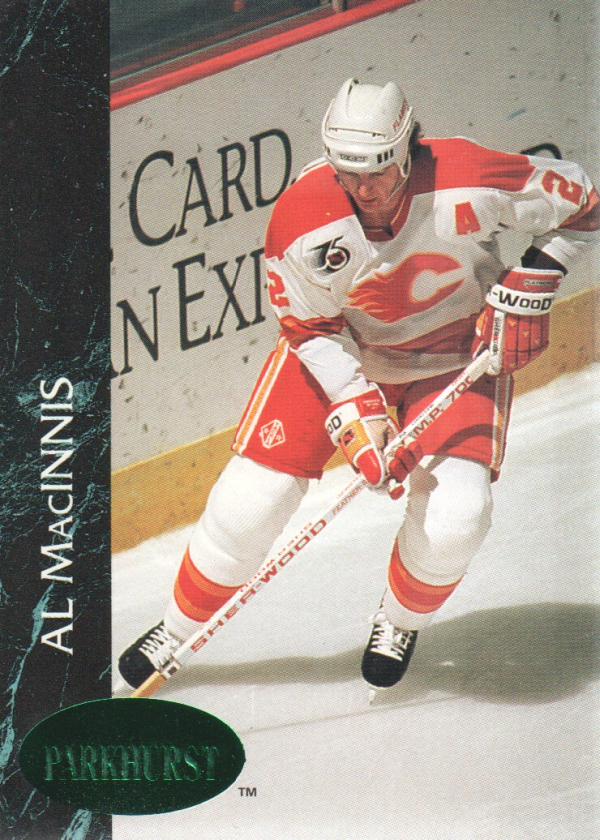 1992-93 Parkhurst Emerald Ice #20 Al MacInnis