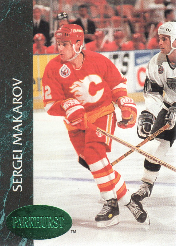 1992-93 Parkhurst Emerald Ice #25 Sergei Makarov