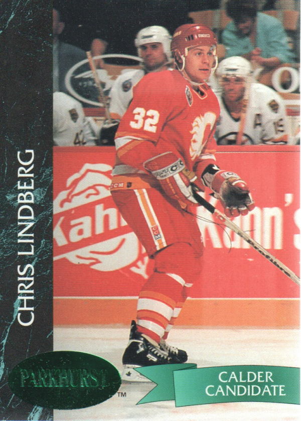 1992-93 Parkhurst Emerald Ice #27 Chris Lindberg