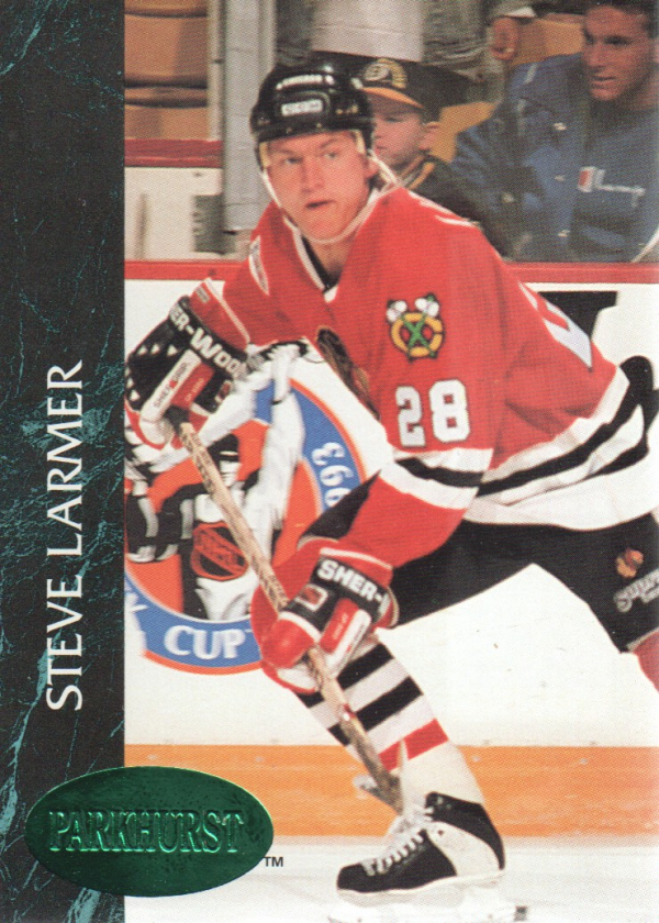 1992-93 Parkhurst Emerald Ice #30 Steve Larmer