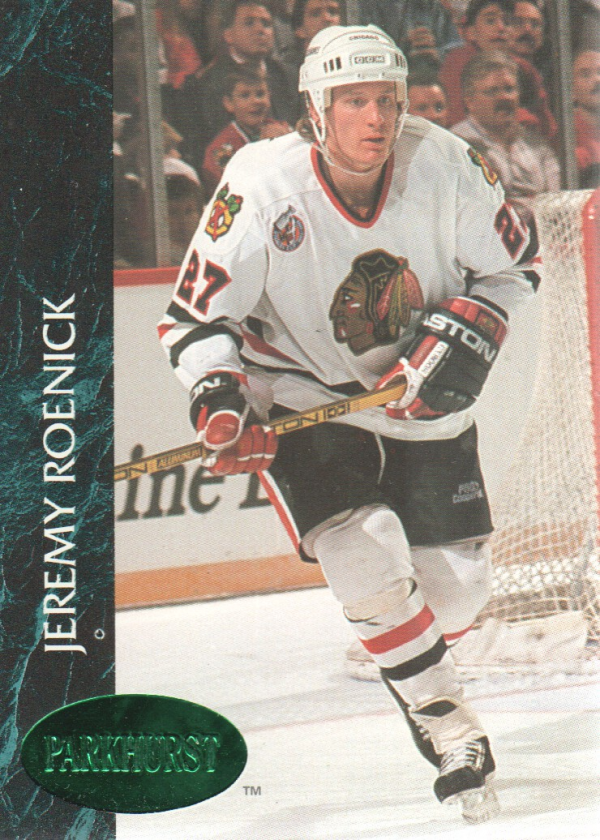 1992-93 Parkhurst Emerald Ice #31 Jeremy Roenick