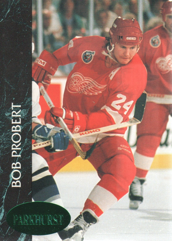 1992-93 Parkhurst Emerald Ice #41 Bob Probert