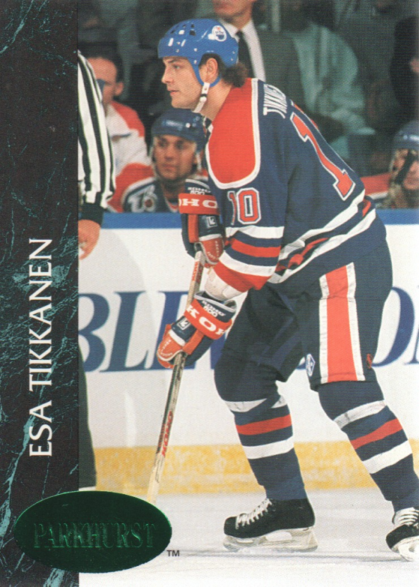 1992-93 Parkhurst Emerald Ice #46 Esa Tikkanen