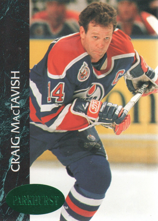 1992-93 Parkhurst Emerald Ice #48 Craig MacTavish