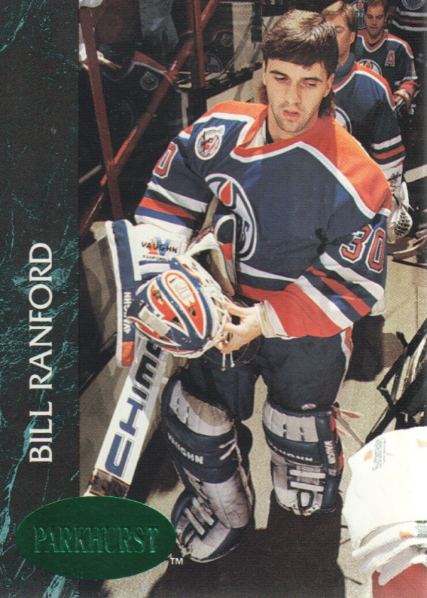 1992-93 Parkhurst Emerald Ice #50 Bill Ranford