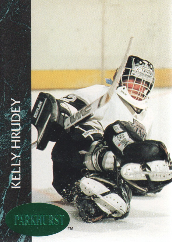 1992-93 Parkhurst Emerald Ice #66 Kelly Hrudey