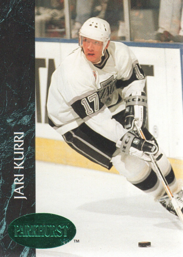 1992-93 Parkhurst Emerald Ice #67 Jari Kurri