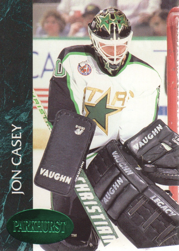 1992-93 Parkhurst Emerald Ice #73 Jon Casey