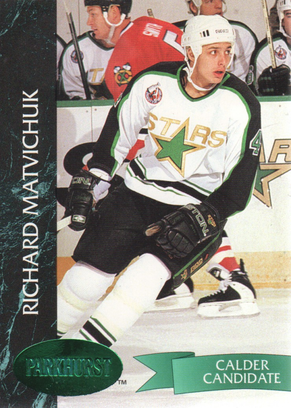1992-93 Parkhurst Emerald Ice #74 Richard Matvichuk