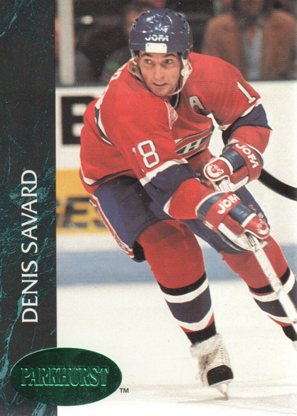 1992-93 Parkhurst Emerald Ice #85 Denis Savard