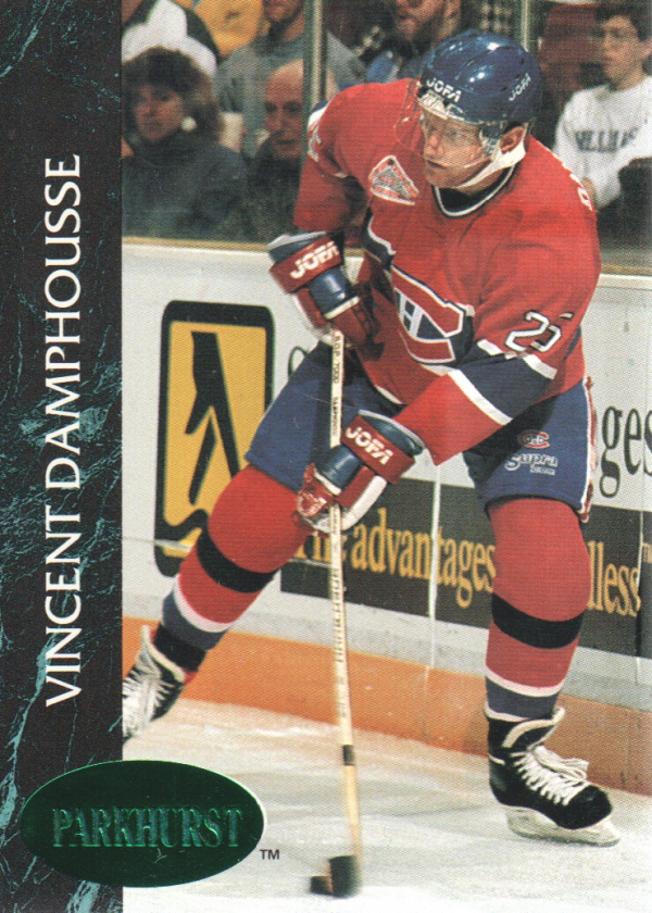 1992-93 Parkhurst Emerald Ice #86 Vincent Damphousse