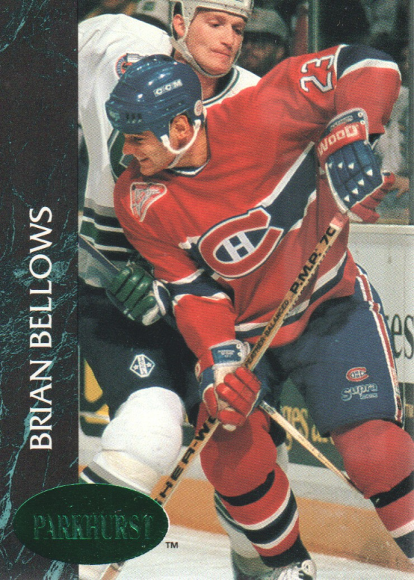 1992-93 Parkhurst Emerald Ice #87 Brian Bellows