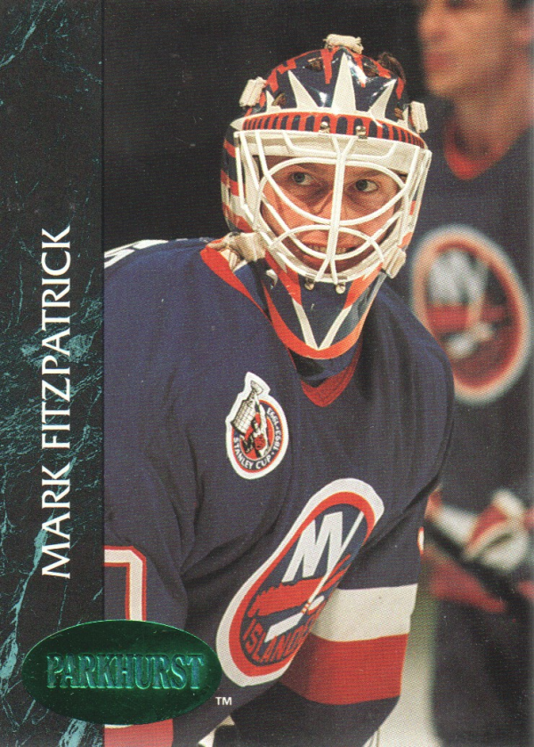1992-93 Parkhurst Emerald Ice #99 Mark Fitzpatrick