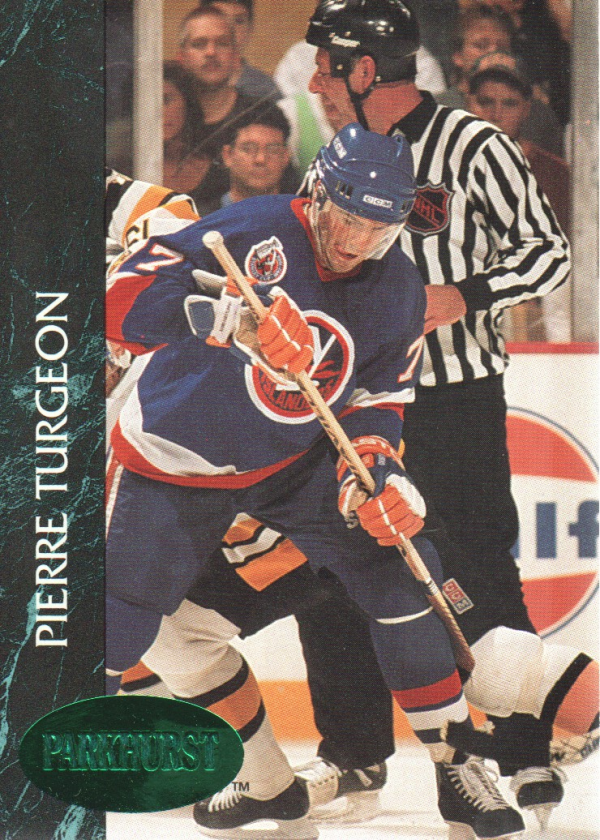 1992-93 Parkhurst Emerald Ice #103 Pierre Turgeon