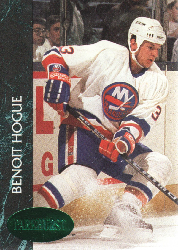 1992-93 Parkhurst Emerald Ice #104 Benoit Hogue