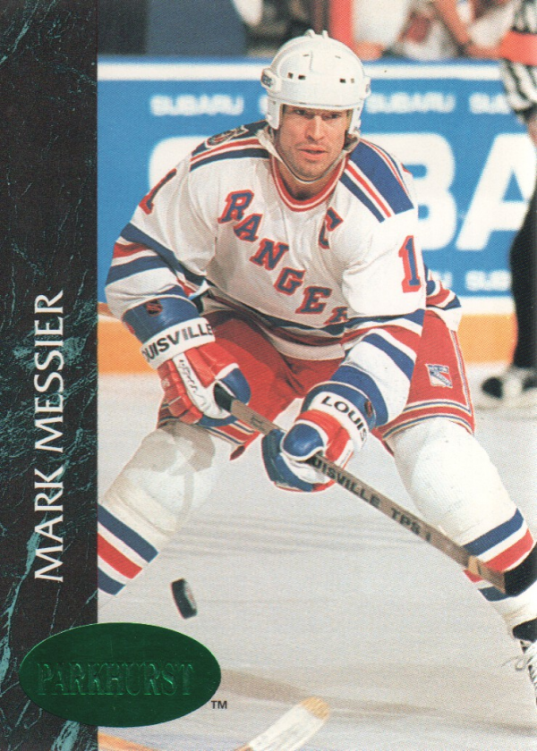 1992-93 Parkhurst Emerald Ice #111 Mark Messier