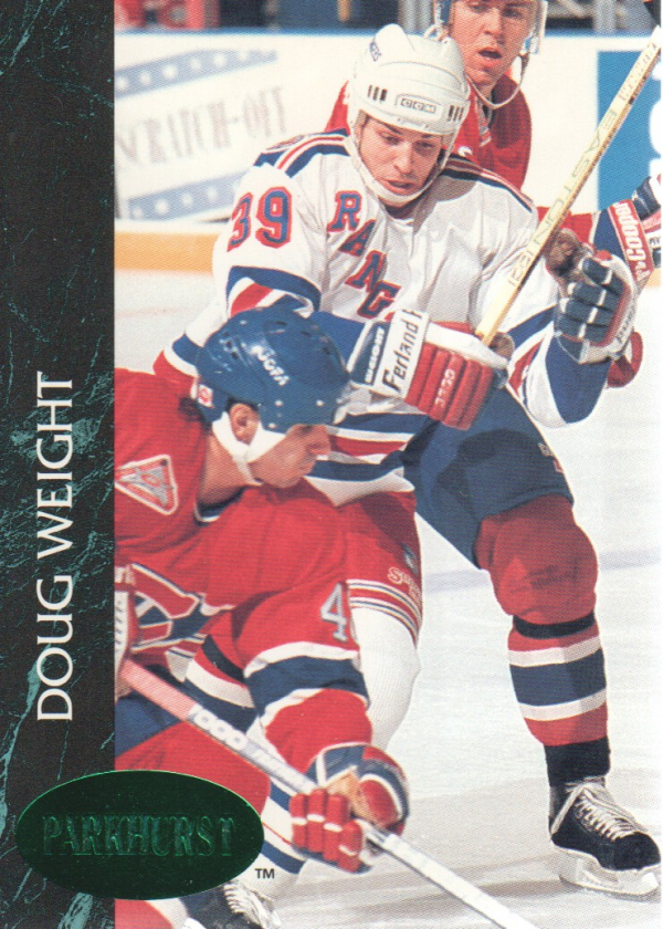 1992-93 Parkhurst Emerald Ice #115 Doug Weight