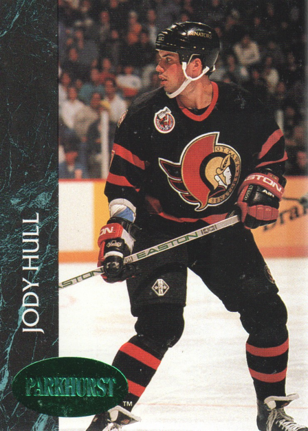1992-93 Parkhurst Emerald Ice #119 Jody Hull