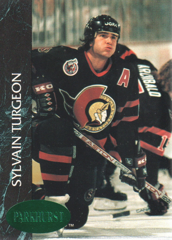 1992-93 Parkhurst Emerald Ice #121 Sylvain Turgeon