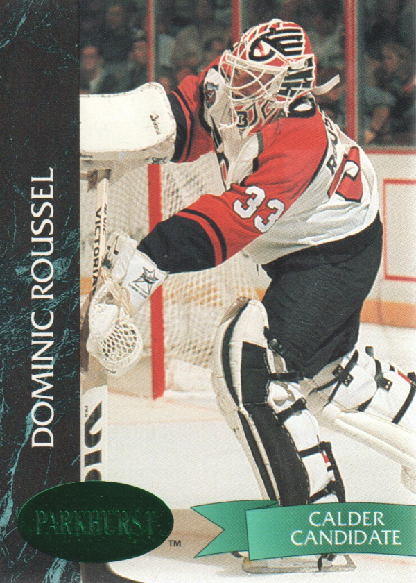 1992-93 Parkhurst Emerald Ice #129 Dominic Roussel