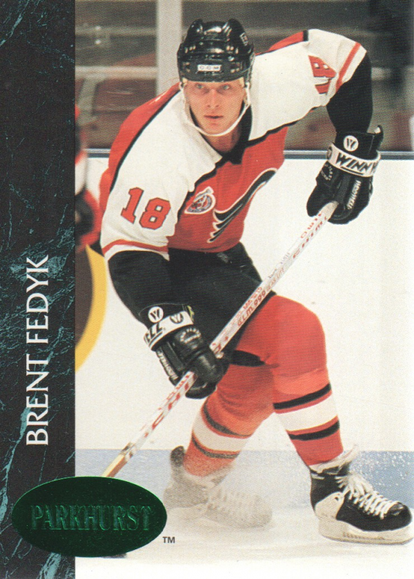 1992-93 Parkhurst Emerald Ice #131 Brent Fedyk