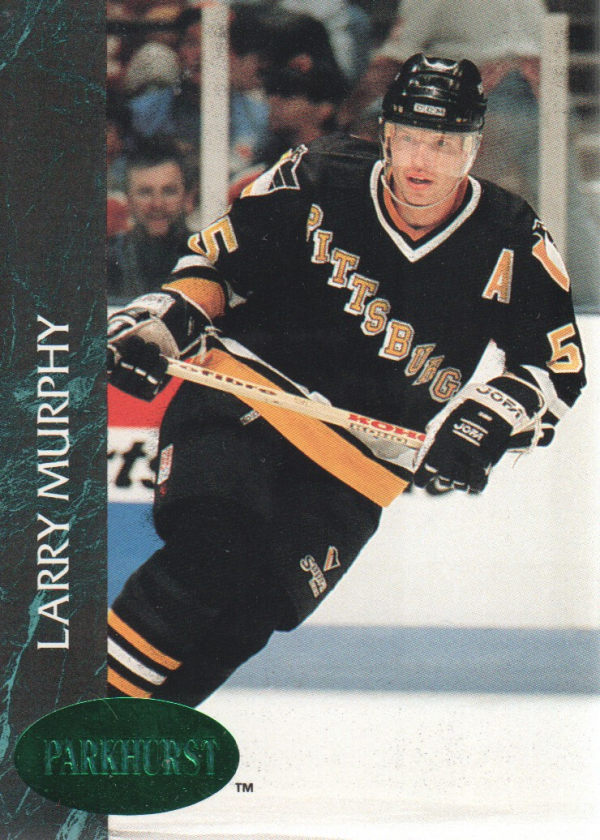 1992-93 Parkhurst Emerald Ice #137 Larry Murphy