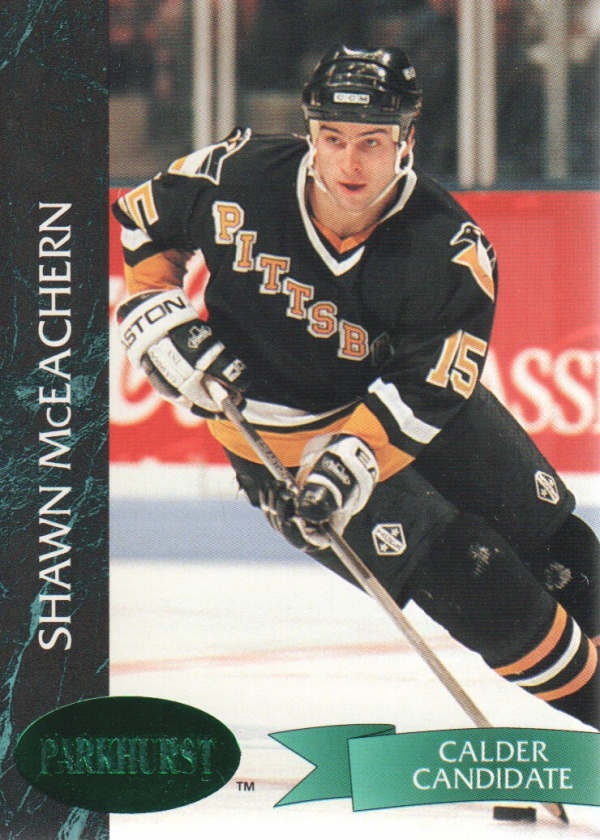 1992-93 Parkhurst Emerald Ice #142 Shawn McEachern