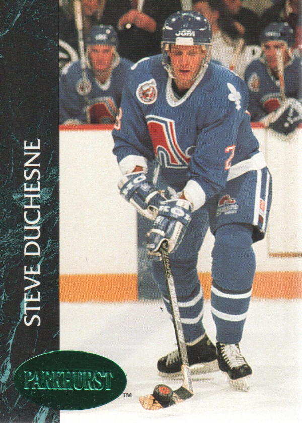 1992-93 Parkhurst Emerald Ice #143 Steve Duchesne