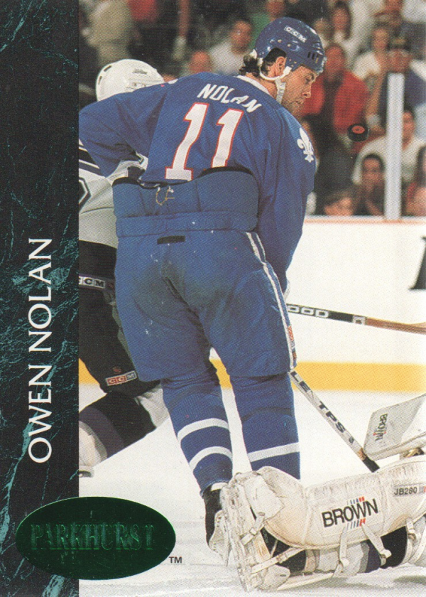 1992-93 Parkhurst Emerald Ice #145 Owen Nolan