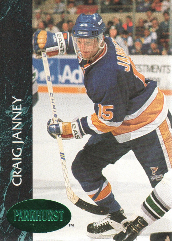 1992-93 Parkhurst Emerald Ice #154 Craig Janney