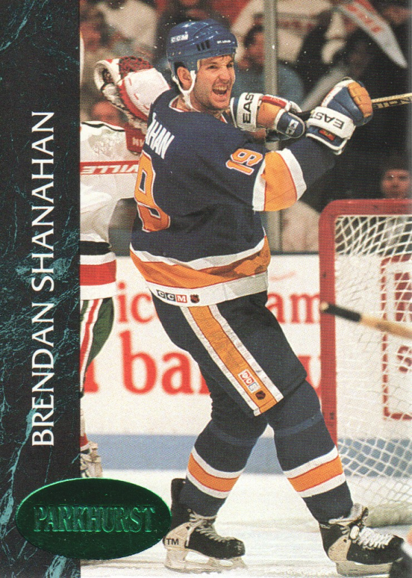 1992-93 Parkhurst Emerald Ice #156 Brendan Shanahan