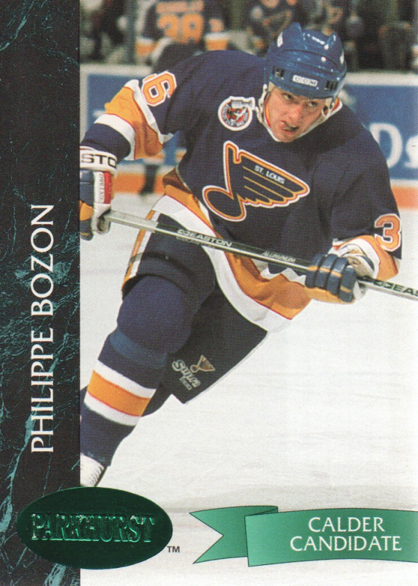 1992-93 Parkhurst Emerald Ice #159 Philippe Bozon